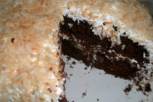 Toasted Coconut Cake Image